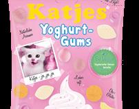"""Katjes - Yoghurt Gums"" Relaunch"