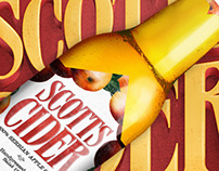 Scotts Cider - Packaging & Logo