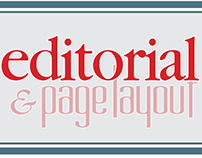 Editorial & page layout