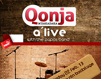 Qonja M'dakadaka A'live with papas band
