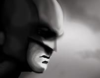 Batman-Grey scale