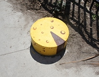 Street Art: The Cheese