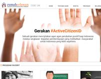 Rumah Relawan Website