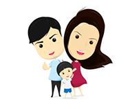 Family T-Shirt K.Phueng