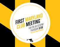 MICA Maryland Club Posters