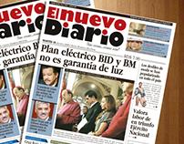 El Nuevo Diario / Rediseño Periódico