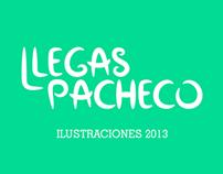 Ilustraciones realizadas en el 2013