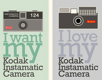 My kodak Instamatic Camera