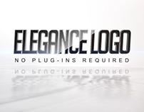 Elegance Logo On Ripple