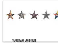 Senior Art Exhibition Postcard