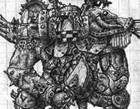 Monstrosity Sketchbook