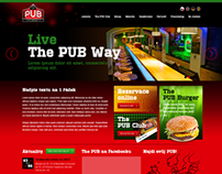THE PUB WEBDESIGN