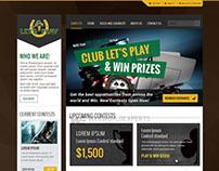 Club Let's Play - Web Portal Development