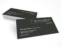 Fxavier - Logotipo + Visiting Card + Website