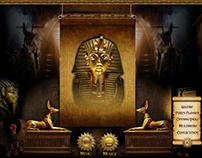 Diseño Web en Flash  Egipto (Web Temáticas)
