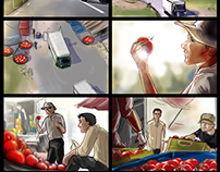 StoryBoard for ads TVC