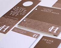 Harrisons boutique hotel branding & web design