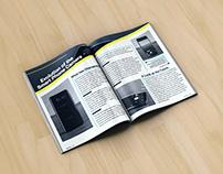 TopTech Magazine - Print Design