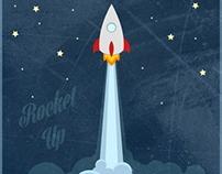 Rocket up! Brand - принты для одежды