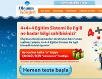 OKYANUS KOLEJİ - HEDİYELİ TEST MIKROSITE
