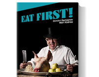 book design / eat first!