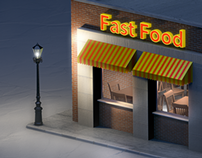 3D // Small Food Stores