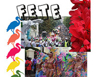FETE - Moodboard, Illustrations and Line Up