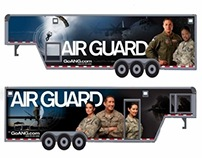 Air National Guard Trailer Wrap