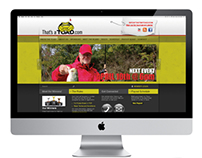 Website Design for That's a Toad