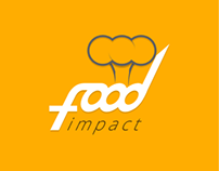 Food impact logo design