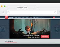 O Design – Creative Portfolio + Corporate Profile