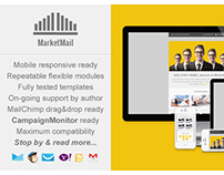 Responsive Business Email Template - MarketMail