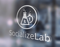 SocializeLab Logo Design & VCard