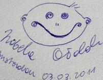 zakręcony Uśmiech curly smile