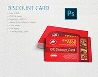 Restaurants Discount Card