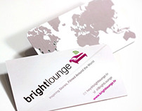 Brightlounge Silk Business Cards