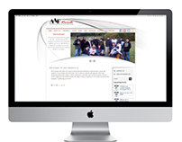 Website Design for AAF Knoxville - Silver ADDY