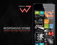Responsive Store / Mobile View 2013
