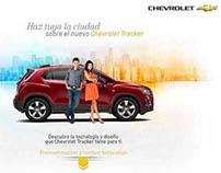 GM Ecuador - Landing Page Chevrolet Tracker