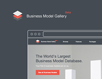 WebApp – Business Model Gallery