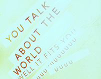 You Talk About the World