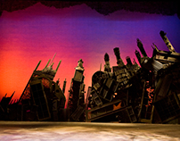 """Lead Scenic Artist for """"Sweeney Todd..."""""""