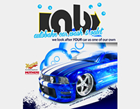 Autobahn Car Wash Flyer
