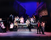 "Assistant Scenic Design for ""West Side Story"""