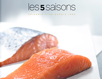 Les 5 Saisons   Metro - Food Photography
