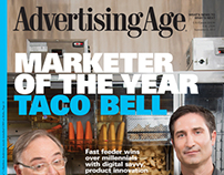 Ad Age Marketer of the Year cover