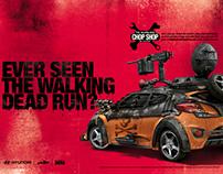 Hyundai Chop Shop TWD Print Campaign - Veloster