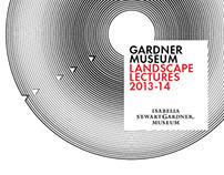 Gardner Museum Landscape Lectures 2013-14