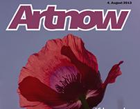 artnow - cover of a fictional magazine