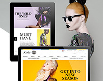 Koko stores E-commerce design
